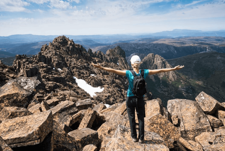 Six Accessible Tasmanian Abels to Ascend in a Day